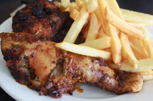 1/2 Portuguese Chicken & Chips