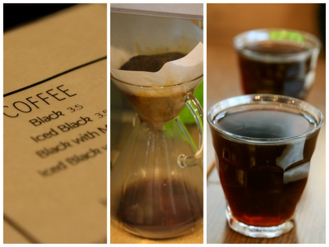 Filtered black coffee 3.5