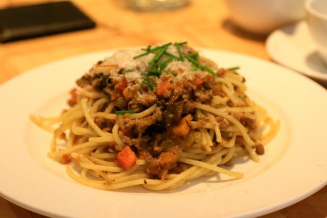 Bolognese - house blended tomato paste 15